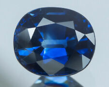 GIA CERTIFIED 1.74 cts. Unheated  Blue Sapphire From Madagascar.