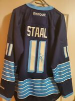 SIGNED Autographed Jordan Staal Pittsburgh Penguins Third Alternate Jersey
