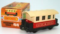 LESNEY MATCHBOX NO. 44 PASSENGER COACH - A/MINT BOXED