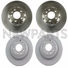For Porsche Cayenne Turbo S Set of 2 Front & Rear Vented Disc Brake Rotors OEM
