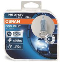 Osram HB3 9005 12V 60W 4200K Cool Blue Intense Headlight Fog Bulbs Twin Pack