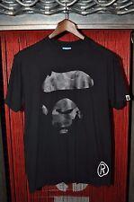 Bape A Bathing Ape Ape Face Black Grey Camo Nigo OG T Shirt L Large