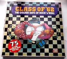 Class Of '62 Golden Days Of Rock N Roll 5 LP Box Set 75 Original Hits 1958 To 62