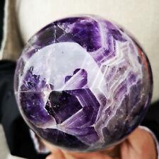 4.55LB Natural Dream purple crystal quartz crystal ball  S121