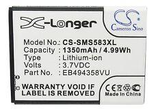 Battery for Samsung GT-S5830,GT-S5830i,GT-S5830T,SCH-i579,GT-S5830T GalaxyS Mini
