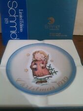 "Christmas 1979 Collector Plate ""Starlight Angel"" Original Box West Germany"