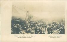 Postcard WW1 Painting The War Oh The War Lucerne Museum unposted