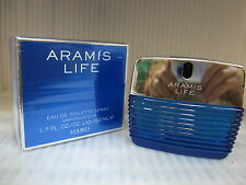 ARAMIS LIFE FOR MEN 1.7 FL oz / 50 ML Eau De Toilette Spray In Sealed Box