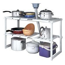 Under Kitchen Sink Storage Rack Cupboard Organiser Under Sink Storage Shelf