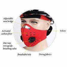 Face Mask Worksite Bike Sports Anti Air Pollution Dual Valve Respirator AU STOCK