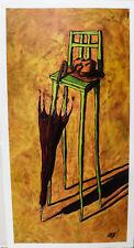 """Flouc"" By Alexandre Zerbe 35x19"" Reprint"