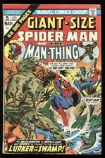 GIANT SIZE SPIDER-MAN #5 8.0 VF / MAN-THING / GIL KANE COVER