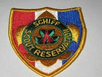 Vintage Boy Scouts of America Schiff Scout Reservation patch