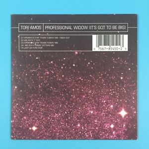 Tori Amos - Professional Widow (It's Got To Be Big) 1996 5 Track CD Single