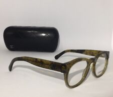 CHANEL AUTHENTIC UNISEX EYEGLASSES (3346 c.1568) 47/20/140mm OLIVE/RIO- RX READY
