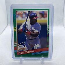 FRANK THOMAS (Chicago White Sox) 1991 DONRUSS 2ND YEAR CARD #477