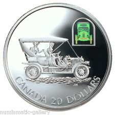 """CANADA $20 2001 PF Silver The Russell Model """"Light Four"""" Touring Car  Box/Coa"""
