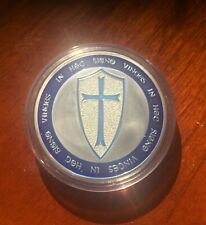 Knights Templar coin, Soldier of Christ