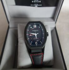 Montres De Luxe Mens GMT Estremo Black RED stich Watch  NEW