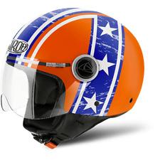 casco AIROH Hazzard Orange Gloss taglia XS
