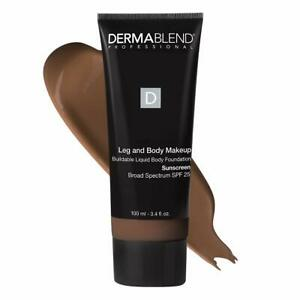 Dermablend Leg and Body Makeup Foundation with SPF 25 - 85N Deep Natural 3.4 oz