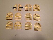 Lego Lot of Castle Doors Gates Castle Parts Lot Gold Iron Gates K374