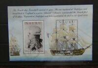 Nauru 2005 Bicentenary of Battle of Trafalgar Miniature Sheet Used