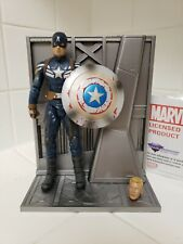 "Marvel Captain America Complete Unmasked 7"" Action Figure Diamond Select Toys"