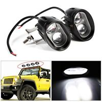 Round Spot Work Light Driving Fog LED Lamp for Offroad SUV Car Truck Motorcycle
