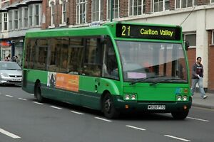 Nottingham City Transport 128 6x4 Quality Bus Photo