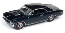 1966 Chevrolet Chevelle  Blue Danube *RR** Auto World Hobby 1:64 OVP
