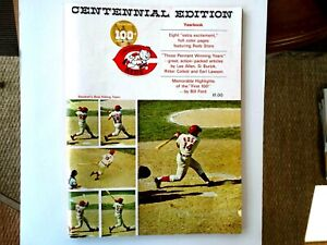 Cincinnati Reds Centennial Edition Yearbook – 1969