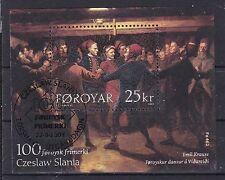 Echte gestempelte Briefmarken aus Europa mit Kunst-Motiv
