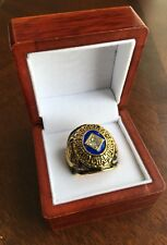 RARE 1955 Los Angles Dodgers World Series Championship Ring Display Box USA