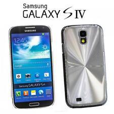 Schutz Hülle Handy Cover Samsung I9500 i9505 Galaxy S4 SIV Silber Case Tasche