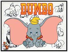 DUMBO FRIDGE MAGNET LOGO 3. 4X5. DISNEY CARTOONS.....FREE SHIPPING