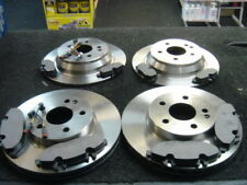 MERCEDES VITO W639 2004 ON MINTEX FRONT  REAR BRAKE DISCS PADS  & SENSORS