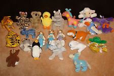 x22 LOT Plush Doll LION Duck Penguin Bear Koala Elephant Bunny Lamb Bird Hippo