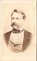 Andreas Keppa CDV Foto Herrenportrait - 1860er
