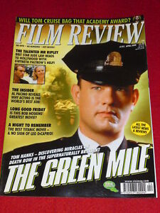 FILM REVIEW - TOM HANKS - THE GREEN MILE - April 2000 # 592