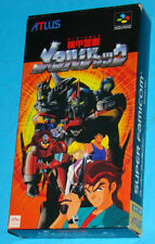 Armored Police Metal Jack - Super Famicom Nintendo SFC Jap Japan