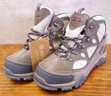 Hi-Tic Rengade Trail WP Jr. Hiking Boots-Grey/Pink-Laces-Ladies 2-w Tag