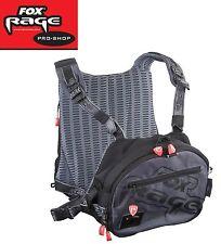 Fox Rage Voyager Tackle Vest, Angeltasche mit Schulterträgern, Spinntasche
