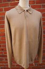 BENETTON FITTED BEIGE MOD STYLE JUMPER BARCA