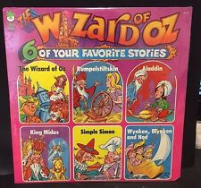 THE WIZARD OF OZ 6-Story ALBUM Vintage 1970's  LP Peter Pan Records NEW Sealed~!
