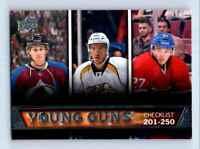 2013-14 Upper Deck Young Guns Nathan MacKinnon Seth Jones RC #250