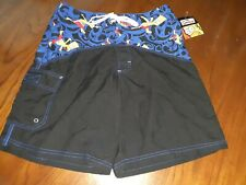The Simpsons Official Bart NWT Swim Trunks/ Board Shorts Size 32 Surf Beach 2004