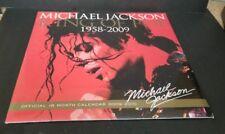Michael Jackson (1958-2009) King of Pop  2009/10 Calendar  NEW FACTORY SEALED !!