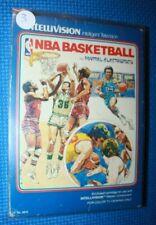 Boxed Intellivision Game: NBA Basketball #3