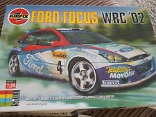 Airfix Ford Focus WRC '02 Model Kit 1:24 Scale #07407